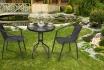 Rattan Bistro-Set - Tisch + 2 Stühle 3 [article_picture_small]