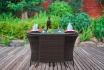 Rattan Bistro-Set - Tisch + 2 Stühle 1 [article_picture_small]