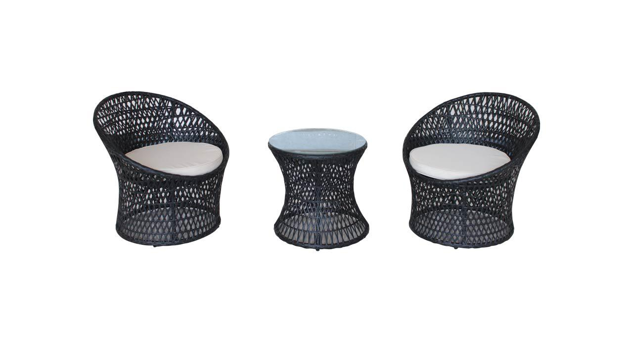 rattan sitzgruppe. Black Bedroom Furniture Sets. Home Design Ideas