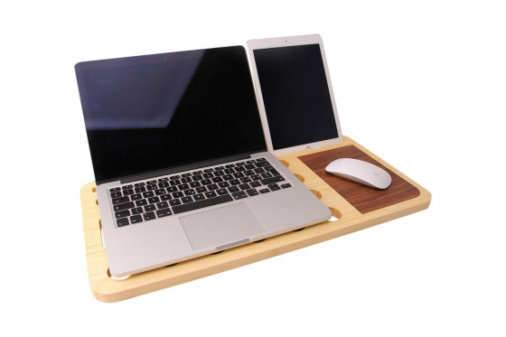 Notebook Ständer - aus Bambus