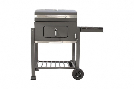 BBQ Holzkohle-Grill - Grill-Wagen  1