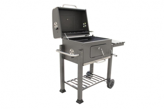 BBQ Holzkohle-Grill - Grill-Wagen  3