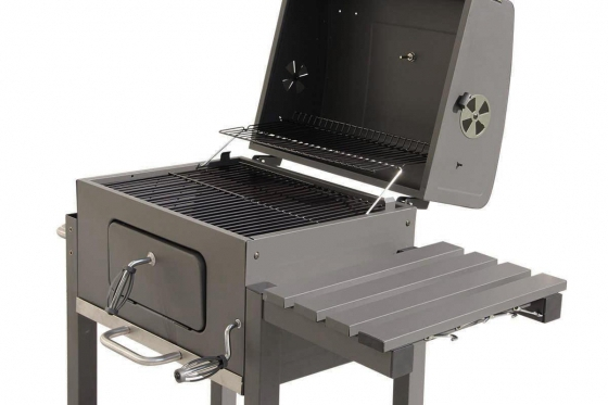 BBQ Holzkohle-Grill - Grill-Wagen  5