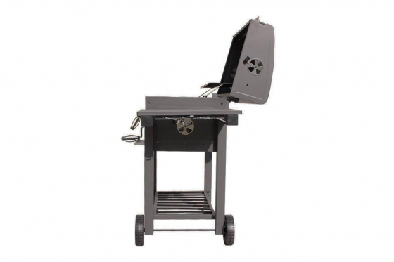 BBQ Holzkohle-Grill - Grill-Wagen  6
