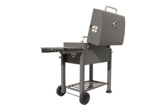 BBQ Holzkohle-Grill - Grill-Wagen  7