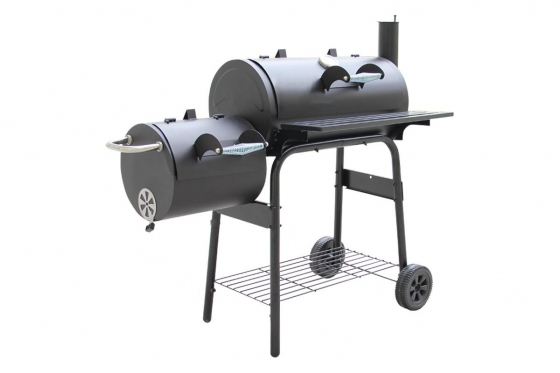 BBQ Smoker Holzkohle  - Grill-Wagen