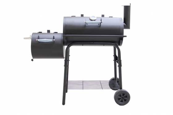 BBQ Smoker Holzkohle  - Grill-Wagen 1