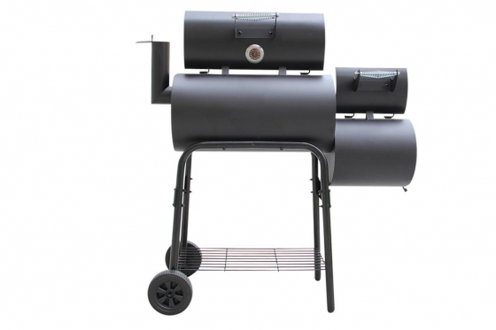BBQ Smoker Holzkohle  - Grill-Wagen 3