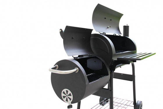 BBQ Smoker Holzkohle  - Grill-Wagen 4
