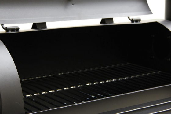 BBQ Smoker Holzkohle  - Grill-Wagen 6