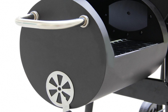 BBQ Smoker Holzkohle  - Grill-Wagen 9