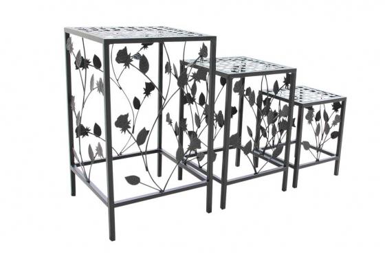 Blumentisch-Set - 3-teilig