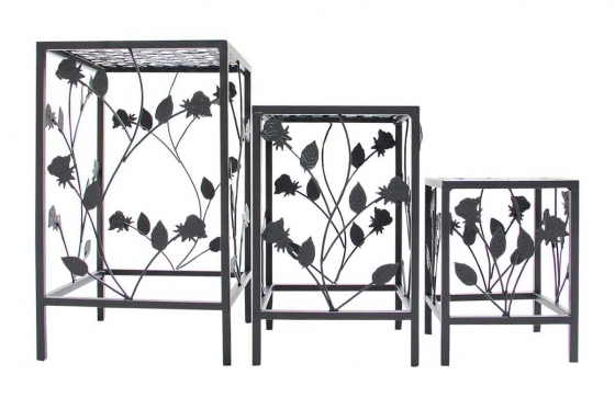 Blumentisch-Set - 3-teilig 1