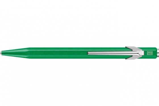 Caran d'Ache Kugelschreiber - mit Gravur - POPLINE metallic green 1