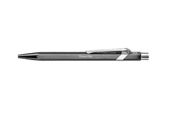 Stylo-bille Caran d'Ache - avec gravure - PopLine noir métallique