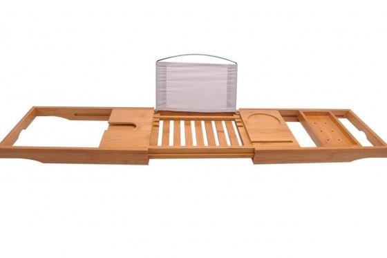 Badewannenbutler  - aus Bambus 5