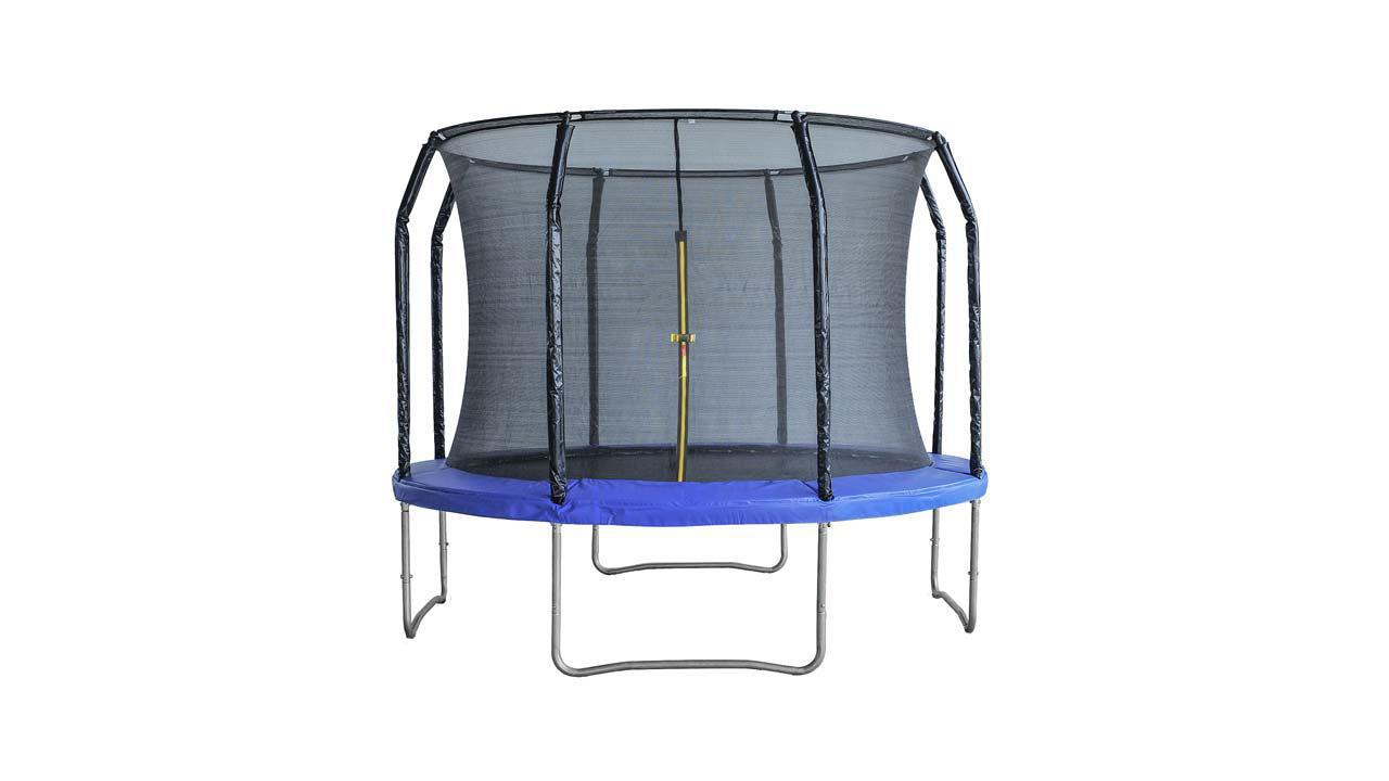 trampolin xxl m inkl sicherheitsnetz. Black Bedroom Furniture Sets. Home Design Ideas