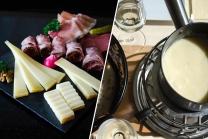Menü Fondue in einer Käserei - für 2 Personen