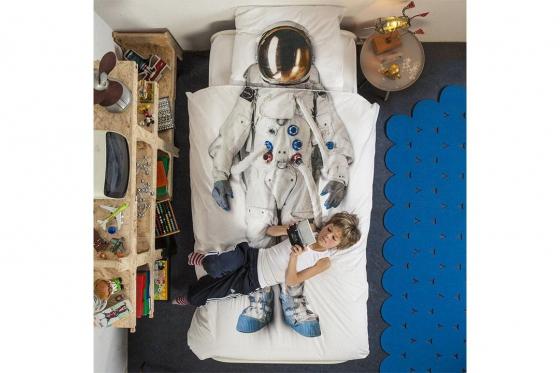 Bettwäsche Astronaut - 160/210 cm 2