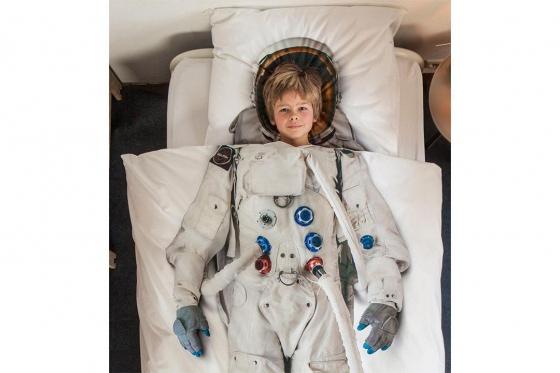Bettwäsche Astronaut - 160/210 cm 3