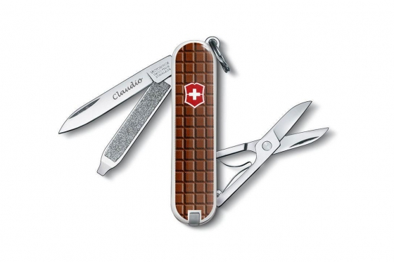 Victorinox Taschenmesser - Classic SD Schokolade - mit Gravur