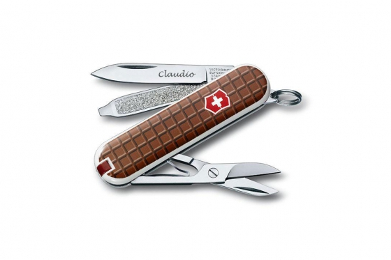 Victorinox Taschenmesser - Classic SD Schokolade - mit Gravur 1