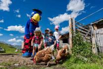 Globi Lufseilbahn Engstligenalp - Familienausflug mit 2 Erwachsenen und max. 4 Kinder