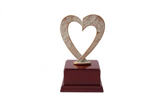 Herz Statue - personalisierbar 2
