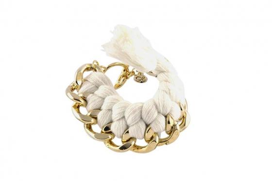 Bracelet Filini  - Phyllis blanc