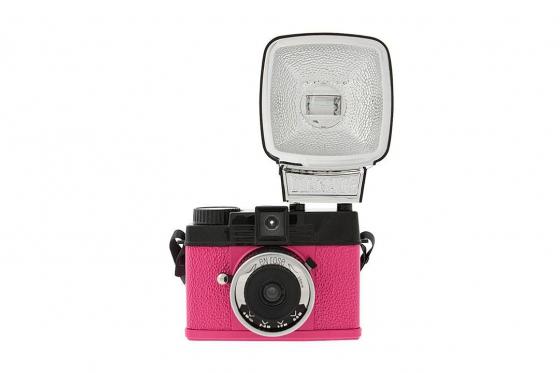 Lomo Diana Mini & Flash - Film Kamera, Sonderedition Pink