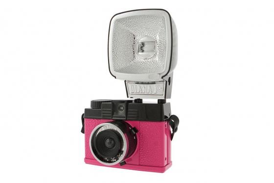 Lomo Diana Mini & Flash - Film Kamera, Sonderedition Pink 1