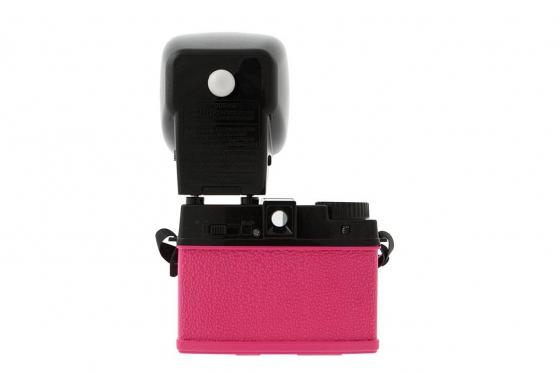 Lomo Diana Mini & Flash - Film Kamera, Sonderedition Pink 2