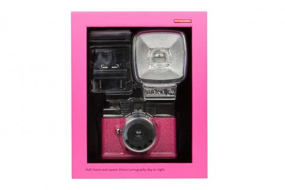 Lomo Diana Mini & Flash - Film Kamera, Sonderedition Pink 4