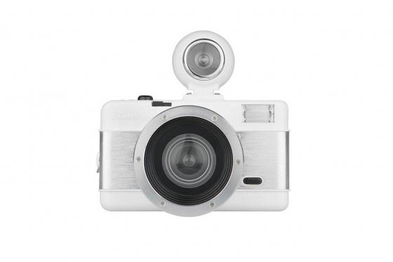 Lomo Fisheye 2.0 Kompakt - Film Kamera, weiss