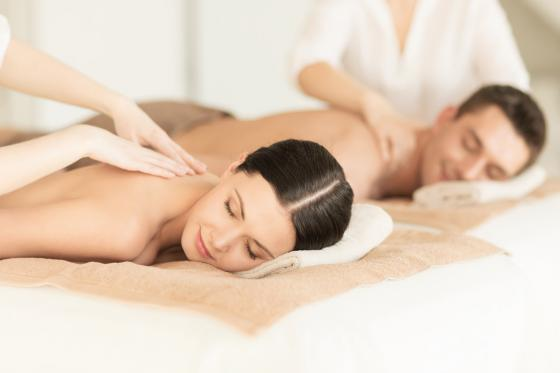 Day Spa Deluxe pour 2 - Bains d'Ovronnaz, Wellness + Repas + Massage en duo  [article_picture_small]