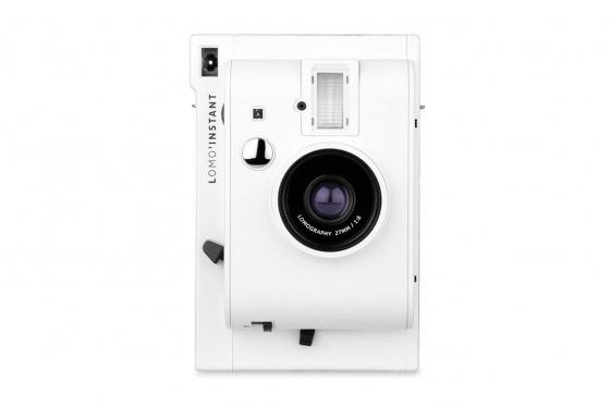 Lomo Instant White Edition - Appareil photo à pellicule + 3 objectifs inclus 1