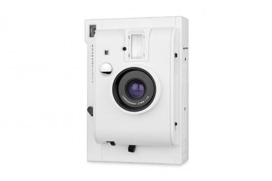 Lomo Instant White Edition - Appareil photo à pellicule + 3 objectifs inclus 2