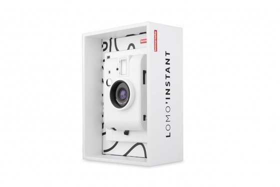 Lomo Instant White Edition - Appareil photo à pellicule + 3 objectifs inclus 3