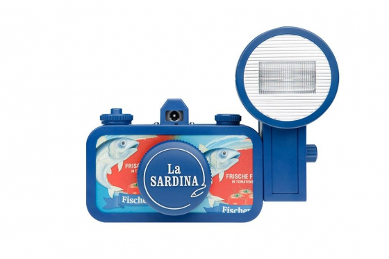 Lomo La Sardina & Flash - Film Kamera, Fischers Fritze