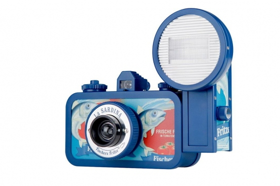 Lomo La Sardina & Flash - Film Kamera, Fischers Fritze 1