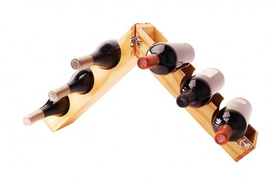 Weinflaschenhalter - für bis zu 6 Flaschen