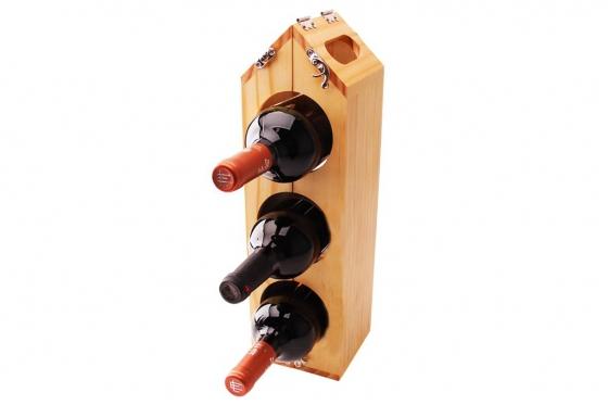 Weinflaschenhalter - für bis zu 6 Flaschen 1