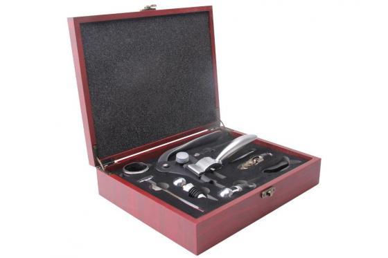 Wein Accessoire-Set - 8-teilig, personalisierbar