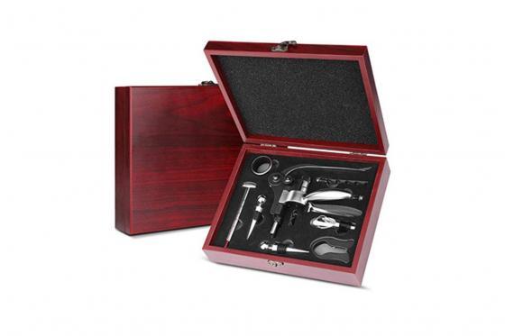 Wein Accessoire-Set - 8-teilig, personalisierbar 1