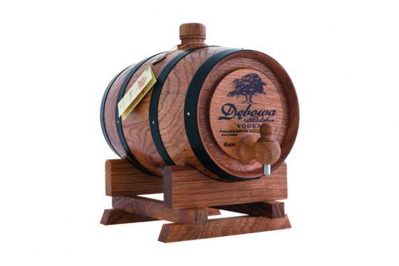 Vodka-Holzfass - 3 Liter