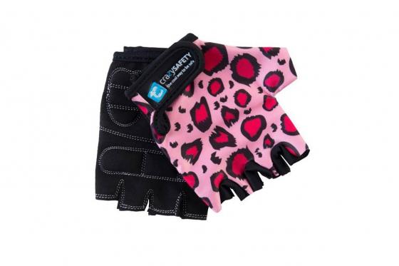 Handschuhe   - Pink Leopard von Crazy Safety