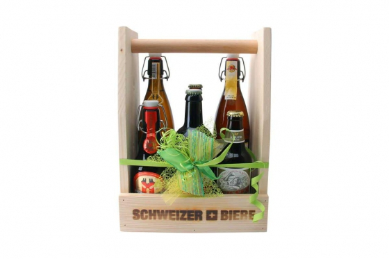 Bierprobe im Holzrahmen - personalisierbar