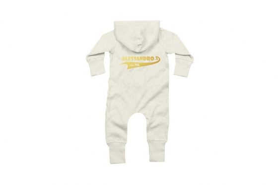 Baby-Overall Since  weiss - personalisierbar 1