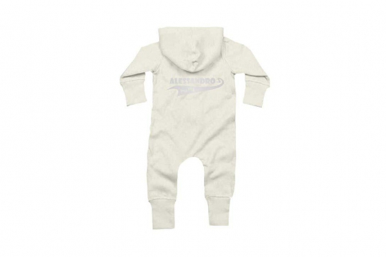 Baby-Overall Since  weiss - personalisierbar 2