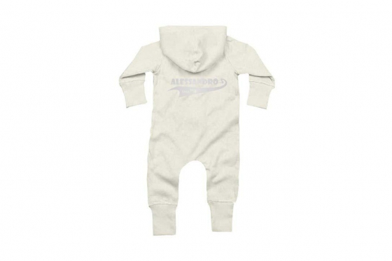 Baby-Overall Since  weiss - personalisierbar 4